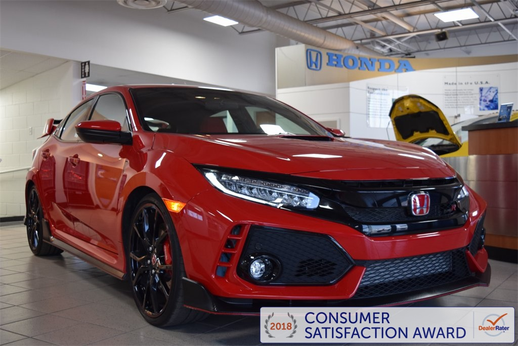 Certified Pre-Owned 2017 Honda Civic Type R Touring 4D Hatchback in ...